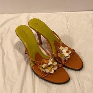 Charles David floral sandals 10M
